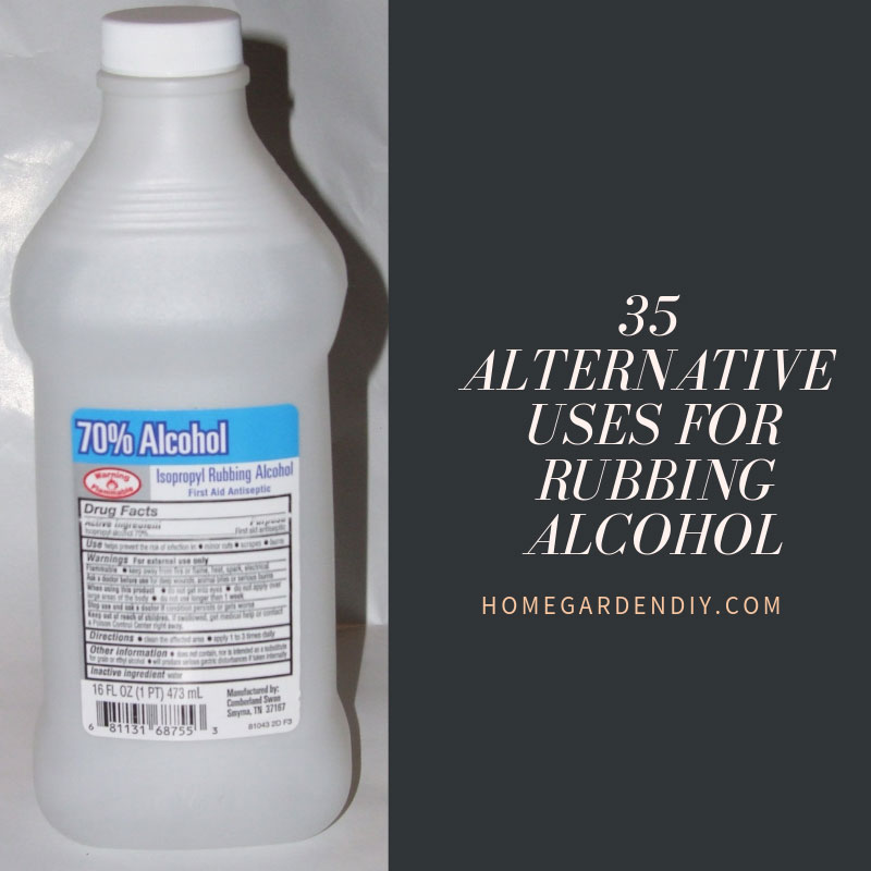 35 Alternative Uses for Rubbing Alcohol